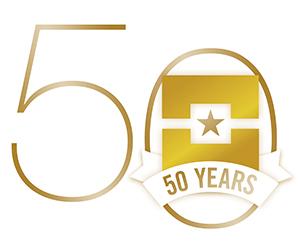 DCCCD 50th anniversary logo