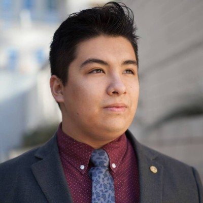 Photo of Luis Veloz of El Centro College