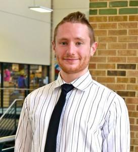 DCCCD alumnus Joshua Hamlin