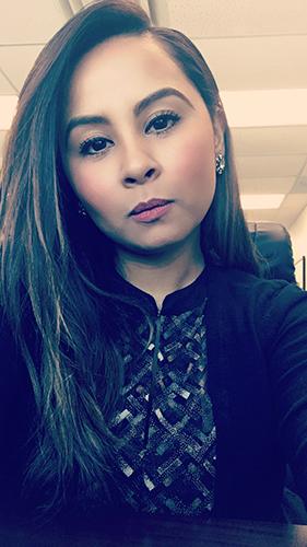 Adrina Vasquez, Richland College Student
