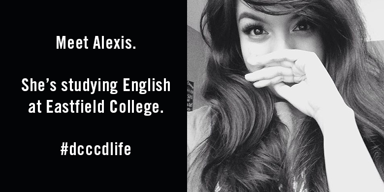 Alexis Rodriguez, Eastfield student