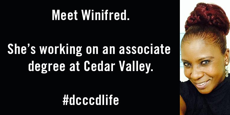 Winifred Bell, Cedar Valley student