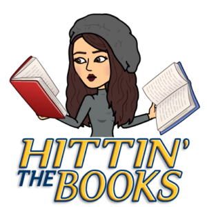 Alexis bitmoji hits the books