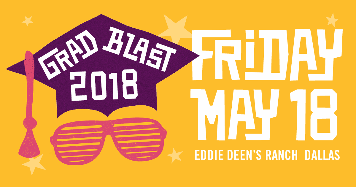 Grad Blast May 18, 2018 at Eddie Deen's Ranch