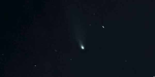 Image of Comet NEOWISE courtesy of Allen Madathil.